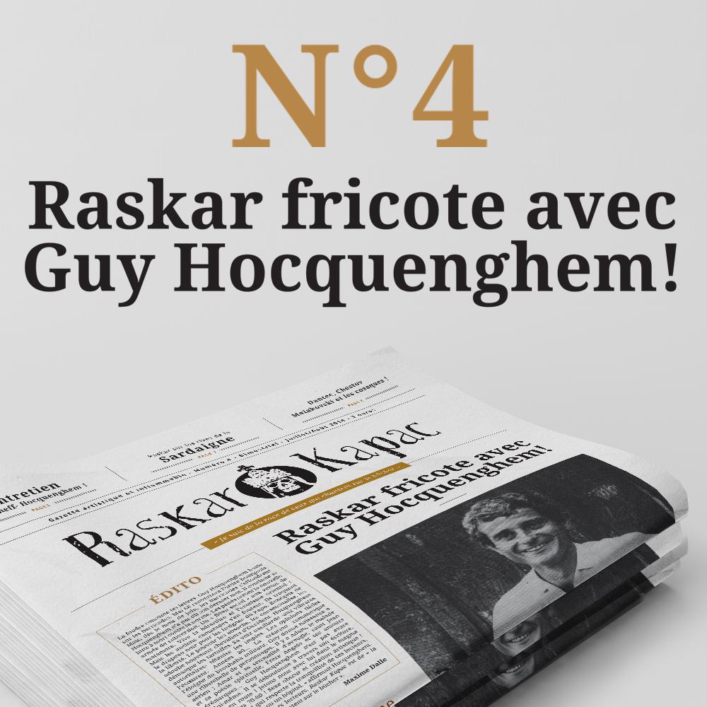 Raskar Kapac fricote avec Guy Hocquenghem!
